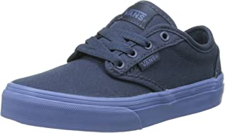 Vans Atwood Kids Shoes (Check Liner) Dress Blue Sneakers