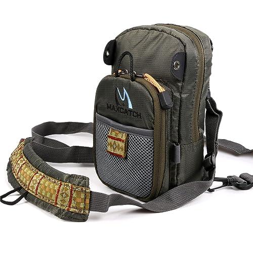 M MAXIMUMCATCH Maxcatch Fly Fishing Chest Bag Lightweight Chest Pack 1cc904fedbb76