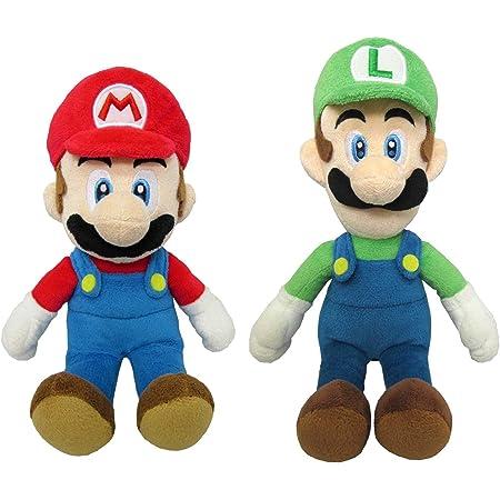 マリオ&ルイージ(S) ぬいぐるみ2種セット【座高約18cm】スーパーマリオ ALL STAR COLLECTION