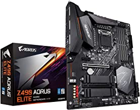 GIGABYTE Z490 AORUS Elite (Intel LGA1200/Z490/ATX/2xM.2/Realtek ALC1200/SATA 6Gb/s/USB 3.2 Gen 2/2.5 GbE LAN/RGB Fusion/Ga...