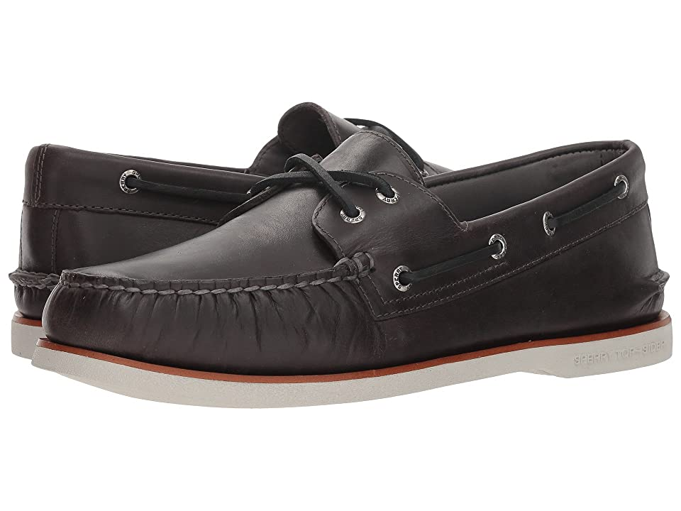 Sperry Gold A/O 2-Eye Orleans (Charcoal) Men