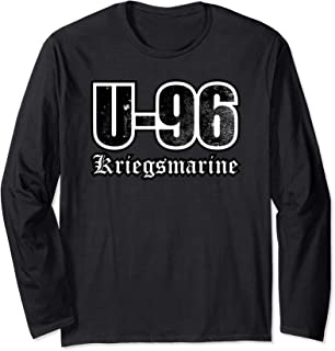 WW2 German U-boat Shirt - U-96 Kriegsmarine (distressed)