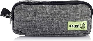 مقلمة قماش بسوستتين من كاليم لج، 21 × 10 سم، KL20-BIGA782 - متعددة الالوان