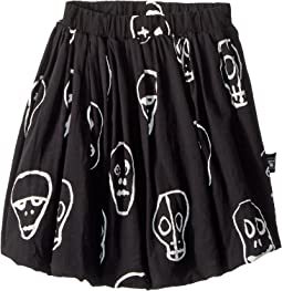 Nununu - Skull Mask Balloon Skirt (Toddler/Little Kids)