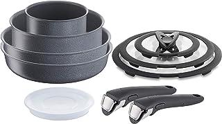 Lagostina Ingenio Induction Mineralis - Batería de cocina (10 piezas)