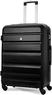 Aerolite Valise de Voyage à carrosserie Rigide en ABS Ultra-léger avec Valise de Transport 4 roulettes avec Serrure à Comb...