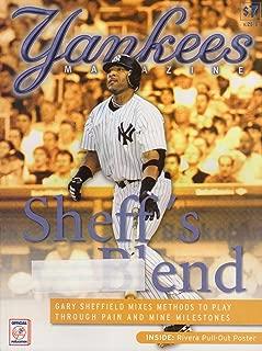 Yankees Magazine, Volume 25, No. 6, July 2004 - Sheff's Blend Issue