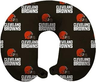 Pegasus Sports NFL Cleveland Browns U-Neck Polyester Travel Pillow