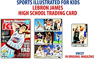 LeBron James Cleveland Cavaliers Sports Illustrated for Kids High School Trading Card - Basketball Player Sets