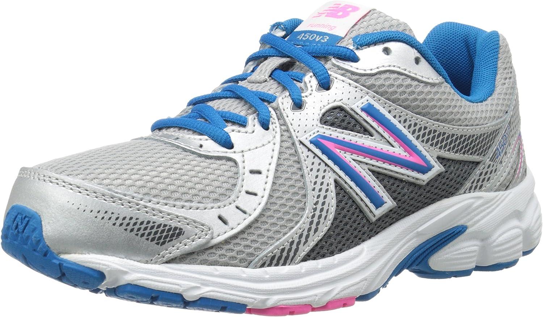 New Balance Woherrar W450V3 Running Running Running skor, silver  blå,8 B USA  no.1 online