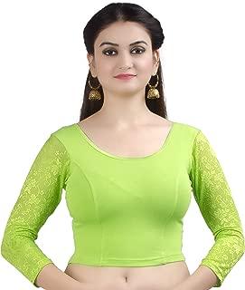 parrot green color tops