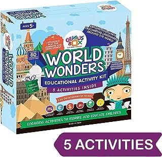 Genius Box Educational Toy for 5+ Year Age: World Wonders DIY, Activity Kit, Learning Kit, Educational Kit, STEM Toy
