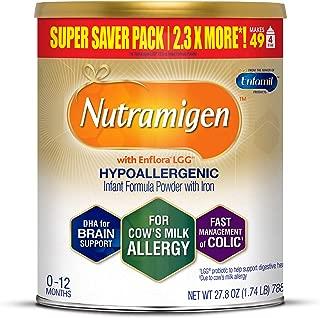 Enfamil 美赞臣 Nutramigen 安敏健 0-12个月 LGG深度水解幼儿配方奶粉 无乳糖防牛奶过敏 788g/罐 单罐装