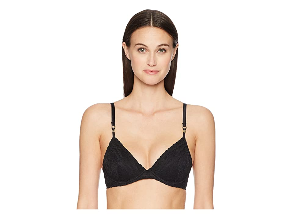 Stella McCartney Lottie Lusting Contour Plunge Bra S80-335 (Black) Women