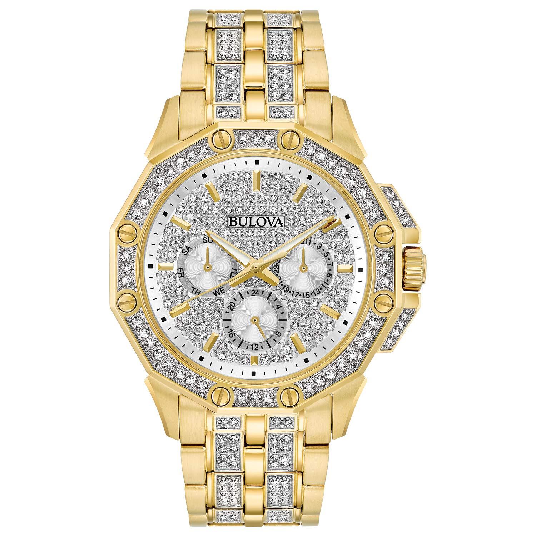 Bulova 98C126 Swarovski Crystal Bracelet