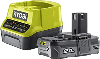 Ryobi RC18120-120 18V ONE+ Lithium+ 2.0Ah Battery and Charger