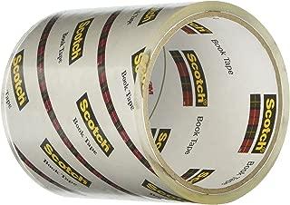 Scotch Book Tape 845, 4 Inches x 15 Yards
