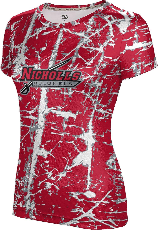 ProSphere Nicholls State University Girls' Performance T-Shirt (Distressed)