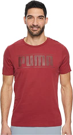 PUMA - Rebel Tape Logo Tee