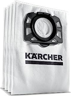 Kärcher Sachet filtre ouate accessoire pour les aspirateurs multifonctions eau et poussières WD 4, WD 5, WD 6, WD 4290, 52...