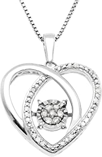 Best pandora sterling silver heart necklace Reviews