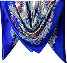 "40"" Women Twill Satin Polyester Silk Feeling Square Hair Wrapping Square Scarfs"