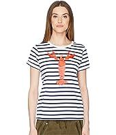 Kate Spade New York - Lobster Stripe T-Shirt