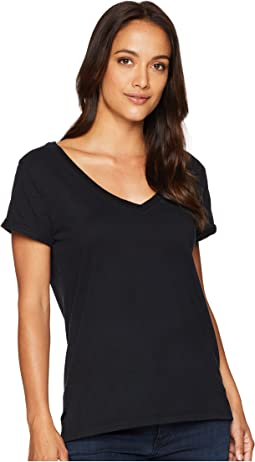 Effortless Short Sleeve V-Neck Tee