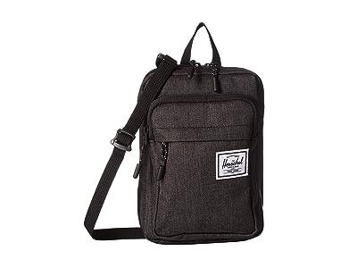 Herschel Supply Co. Form Crossbody Large (Black Crosshatch) Cross Body Handbags