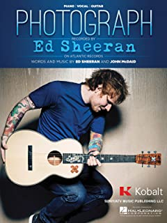 Ed Sheeran - Photograph - Piano/Vocal/Guitar Sheet Music Single