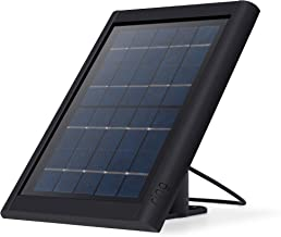 Ring Super Solar Panel – Compatible with Ring Spotlight Cam Battery and Stick Up Cam Battery – Black