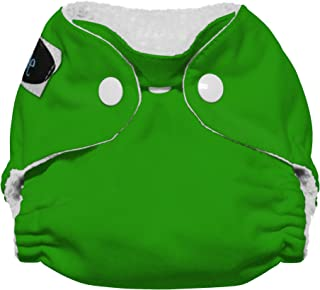 Imagine Baby Products Newborn Stay Dry All-in-One Snap Cloth Diaper, Emerald