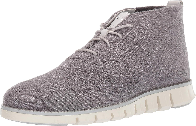Cole Haan Max 65% OFF Chicago Mall Men's Zerogrand Stitchlite Fashion Wool Boot Chukka