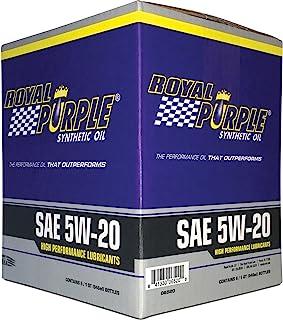 Royal Roxo 01520 SAE Óleo de Motor Sintético Multi-Grau 5W20 Pacote de 6 Quartos