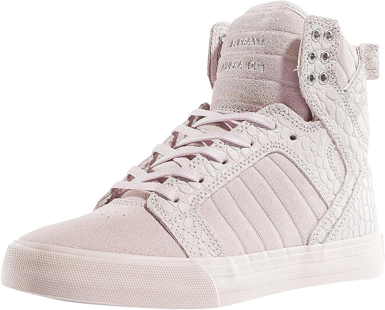 Supra Womens Skytop Mauvechalk shoes Size