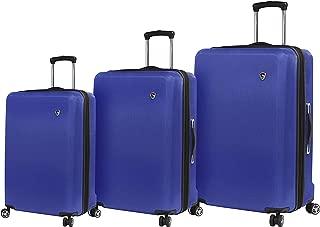Italy Moda Hardside Spinner Luggage 3 Piece Set, Blue