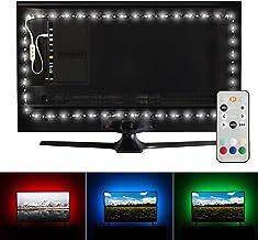 Luminoodle Professional Bias Lighting for HDTV | 6500K True White + 15 Color LED TV..