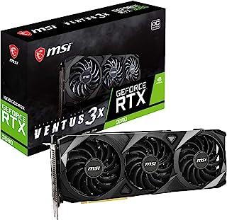 MSI nVidia GeForce RTX 3080 Ventus 3X 10GB OC Video Card 1740 MHz Boost