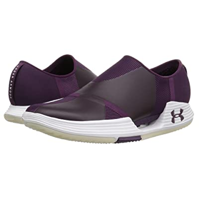 Under Armour UA Speedform AMP 2.0 Slip (Merlot/White/Merlot) Women