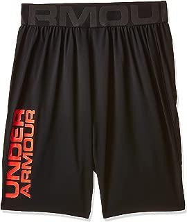 Under Armour Men's Vanish Woven Short Novelty Shorts, Black (Black/Beta Red), Small