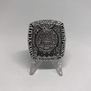 Ricky Ray Toronto Argonauts High Quality Replica 2012 100th Grey Cup Ring Size 12-Silver Colored