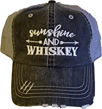 Sunshine and Whiskey Low Profile Black/Gray Women Cap