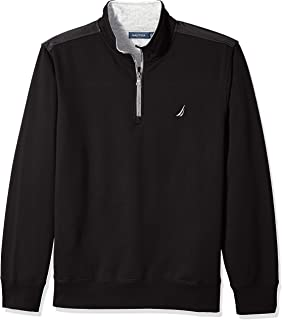Men's 1/4 Zip Pieced Fleece Sweatshirt