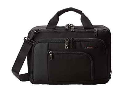 Briggs & Riley Verb Contact Small Brief (Black) Briefcase Bags