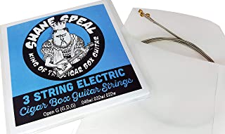 Shane Speal's Signature 3-string Electric Cigar Box Guitar String Set