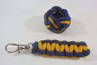 Lion Wolf Neckerchief Slide Woggle Zipper Pull Cub Scout Turks Head Cobra Knot