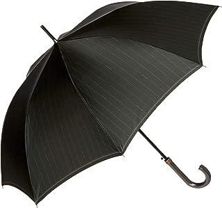 [ムーンバット] ミラ・ショーン/雨傘/長傘/耐風/ツイルプリント/ストライプ メンズ