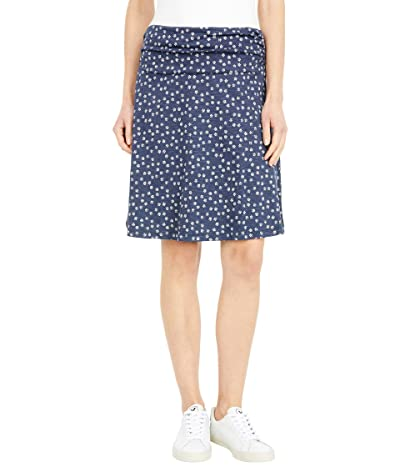 Toad&Co Chaka Skirt (True Navy Daisy Chain Print) Women