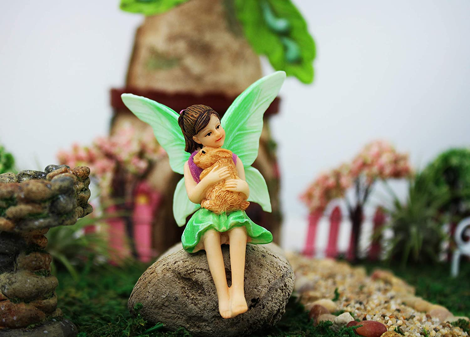 Great Max 72% OFF interest NW Wholesaler - Fairy Garden Miniat Painted Hand Figurines