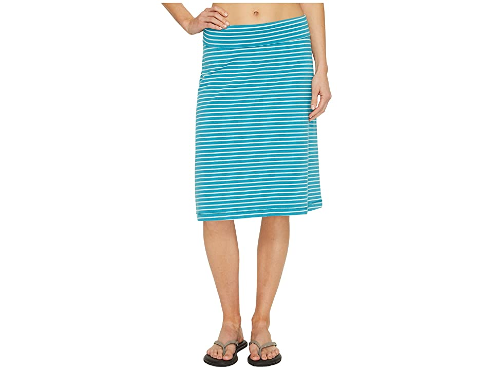 Royal Robbins Active Essential Stripe Skirt (Reservoir) Women